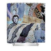 Venice Beach Wall Art 6 Shower Curtain