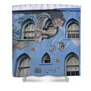 Venice Beach Wall Art 8 Shower Curtain