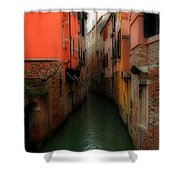 Venice Canals 2 Shower Curtain