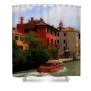 Venice Canals 7 Shower Curtain