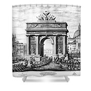 Venice: Grand Canal, 1807 Shower Curtain