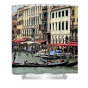 Venice Grand Canal 2 Shower Curtain