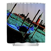 Venice In Color Shower Curtain