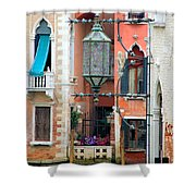 Venice Lamp Shower Curtain