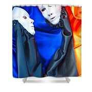 Venice Mask  Shower Curtain