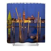 Venice Night Shower Curtain