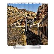 Verde Valley Railway Shower Curtain