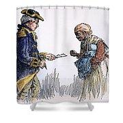 Vermont: Manumission, 1777 Shower Curtain