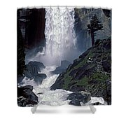Vernal Falls Spring Flow Shower Curtain