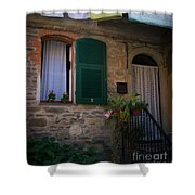 Vernazza Linens Shower Curtain