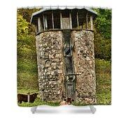 Vernon County Silo Shower Curtain