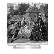 Versailles: Court Life Shower Curtain