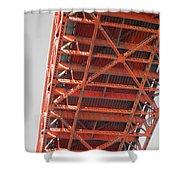 Vertebrae Of The Bridge Shower Curtain
