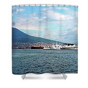 Vesuvio Shower Curtain