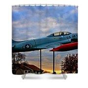 Vfw F-80 Shooting Star Shower Curtain