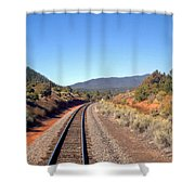via Train 658 Shower Curtain