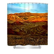 Vibrant Hills Shower Curtain