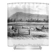 Victoria, Australia, 1856 Shower Curtain