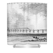Victoria Bridge Shower Curtain