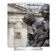 Victoria Memorial Fountain Shower Curtain
