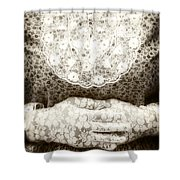 Victorian Hands Shower Curtain