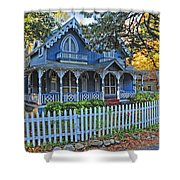 Victorian Home Marthas Vineyard Shower Curtain