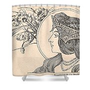 Victorian Lady - 2 Shower Curtain