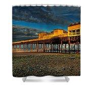 Victorian Pier Shower Curtain by Adrian Evans