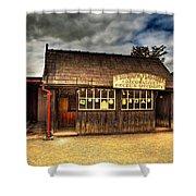 Victorian Shop Shower Curtain by Adrian Evans