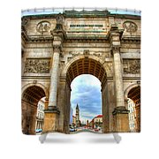 Victory Gate Shower Curtain