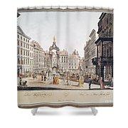 Vienna: Hohemarkt, 1793 Shower Curtain