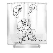 Vietnam War Art-6 Shower Curtain