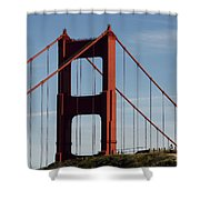 View By The Bay Shower Curtain