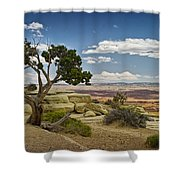 View From A Mesa Shower Curtain