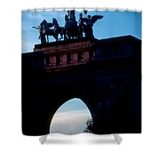 View From Brooklyns Grand Army Plaza Shower Curtain