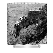 View From Grand Canyon Village Shower Curtain