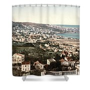 View From Mustapha - Algiers Algeria Shower Curtain