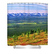 View From Ogilvie Ridge Lookout Shower Curtain