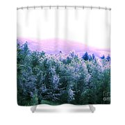 View From Paradise Farm Shower Curtain