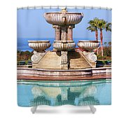 View From Paradise Shower Curtain