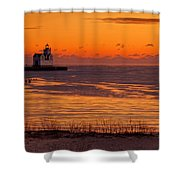 View From Shore Shower Curtain