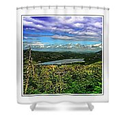 View From The Hilltop 2 Shower Curtain