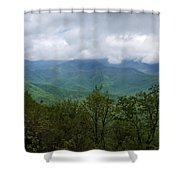 View From The Parkway Shower Curtain
