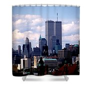 View From The Soldiers And Sailors Arch Brooklyn Shower Curtain