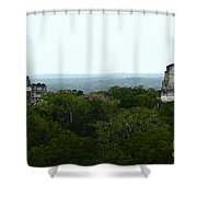 View From The Top Of The World Shower Curtain