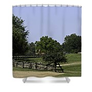 View Of Appomattox Courthouse 2 Shower Curtain