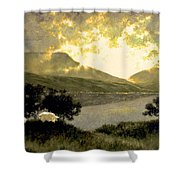 View Of Ben Bulben Shower Curtain