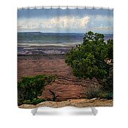 View Of Canyonland Shower Curtain