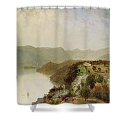 View Of Cozzen's Hotel Near West Point Ny Shower Curtain