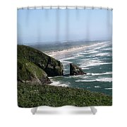 View Of Florence Shower Curtain